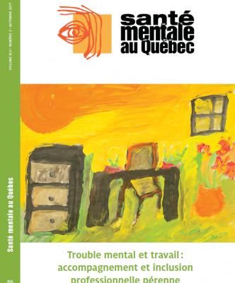 Couv sante mentale au Quebec 2017